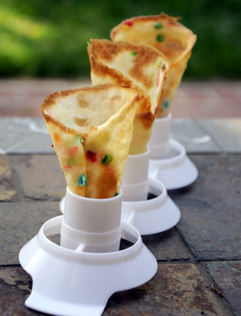 Funfetti Ice Cream Cones