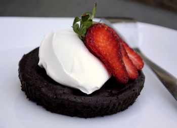 Flourless Chocolate Cakelet