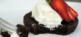 Flourless Chocolate Cakelets