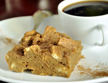 Coffee Bread Pudding