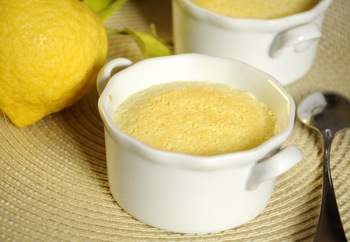 Little Lemon Pudding Cakes