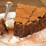 Rustic Amaranth Chocolate Cake
