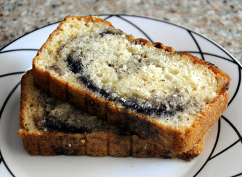 Blueberry Swirl Bread