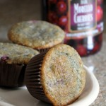Very Cherry Almond Muffins