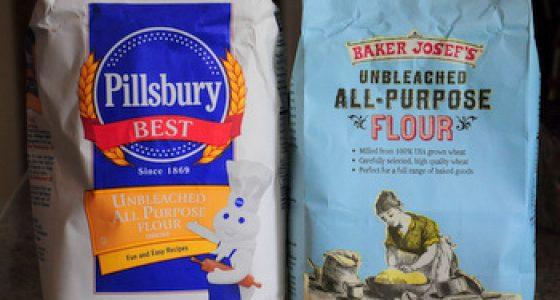 What is unbleached flour?