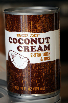 What is coconut cream?