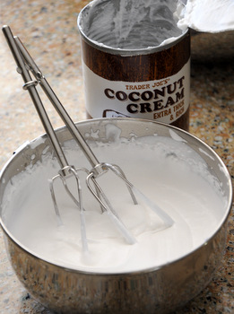 Coconut Cream Whipped Cream