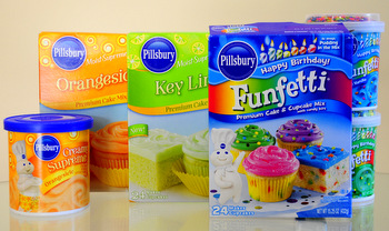 Pillsbury Cake Mixes
