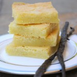 Vanilla Bean Blondies