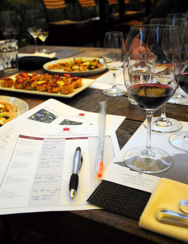 Wine Blending notes