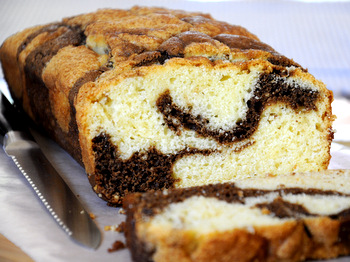 Coffee Swirl Quick Bread