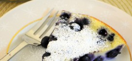 Blueberry Buttermilk Clafoutis