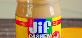 Jif Cashew Butter, reviewed