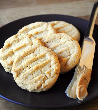 Vanilla Cashew Butter Cookies | Baking Bites