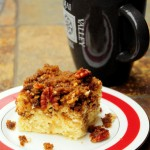 Brown Sugar Pecan Streusel Coffe