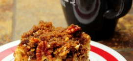 Brown Sugar Pecan Streusel Yeasted Coffee Cake