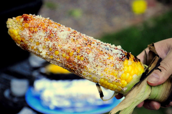 Grilled Street Corn