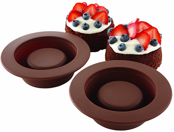 Silicone Brownie Bowls Baking Bites