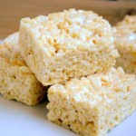 Brown Butter Rice Krispy Treats