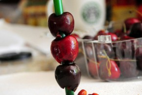 How to pit cherries without a cherry pitter