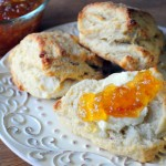 Rustic Buttermilk Scones