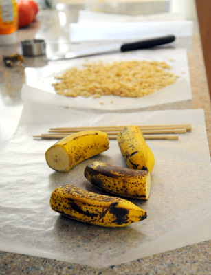 Banana Pop Assembly Line
