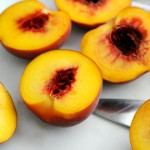 Freestone Peaches, pitted