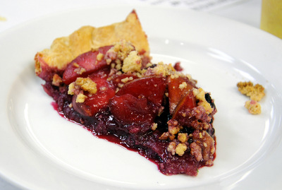 Sherry Yard's Plum Pie