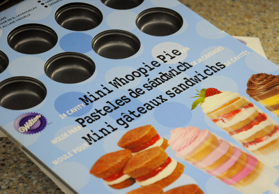 Mini Whoopie Pie Pan