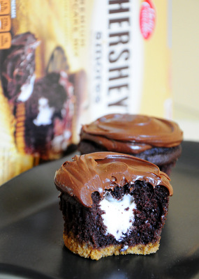 Hershey S S Mores Cupcake Mix Reviewed Baking Bites
