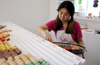 Plating 'Lette Macarons