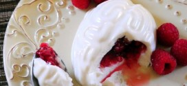 Brain Panna Cotta with Raspberry Filling