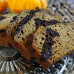 Chocolate Marble Pumpkin Bread