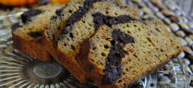Chocolate Swirled Pumpkin Bread