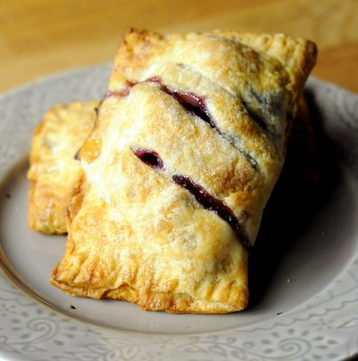 Plum and Grape Hand Pies