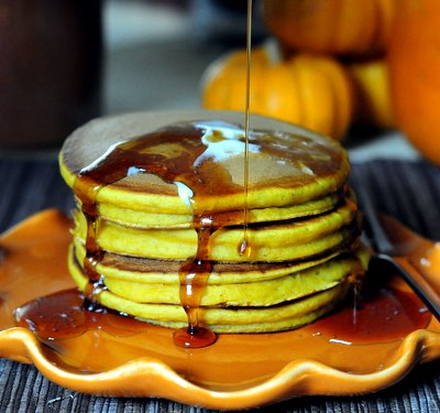 Buttermilk Pumpkin Pancakes
