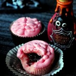 Bloody Brain Cupcakes, for Zombie Fans