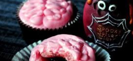 Bloody Brain Cupcakes