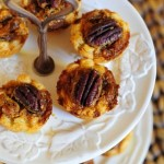 Bite Size Salted Caramel Pecan Pies