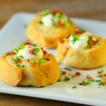 Loaded Potato Puffs