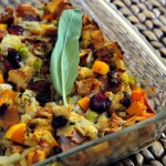 Cranberry, Pancetta and Butternut Squash Stuffing