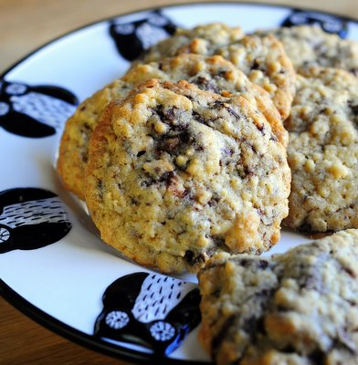 Cranberry, Ginger & Almond Chocolate Chunk Cookies