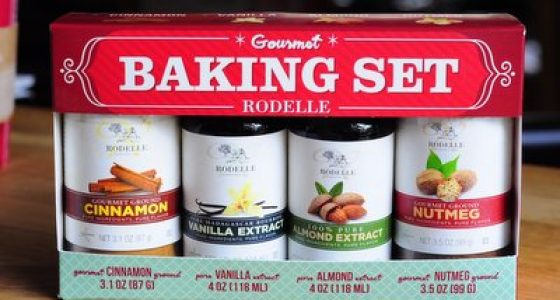 Rodelle Gourmet Baking Set Giveaway! (closed)