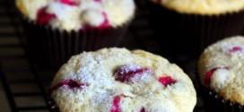 Cardamom Cranberry Muffins