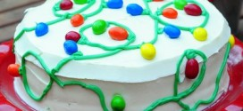 How To Make A Christmas Lights Cake