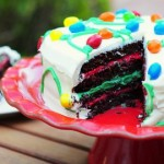Holiday Chocolate Peppermint Layer Cake, interior