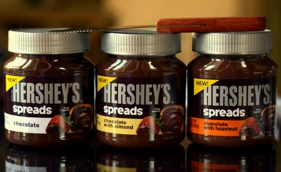 Hershey's Chocolate Spreads, reviewed