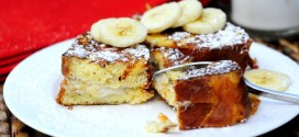 Bananas n' Cream Stuffed French Toast