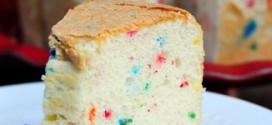 Confetti Angel Food Cake