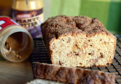 Double Peanut Butter Quick Bread
